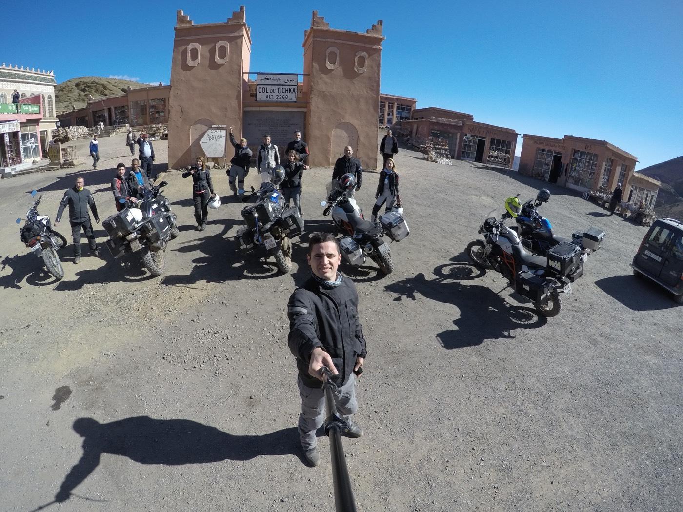 Motosikletle Sahra Çölü'nde