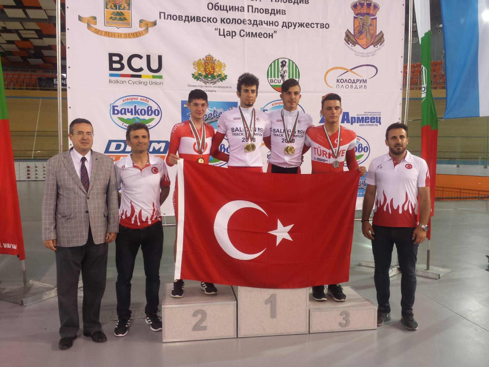 Balkan bisikletine Türk damgası