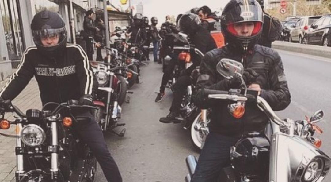 Harley ve Davidson'un ruhu İstanbul Boğazı'nda